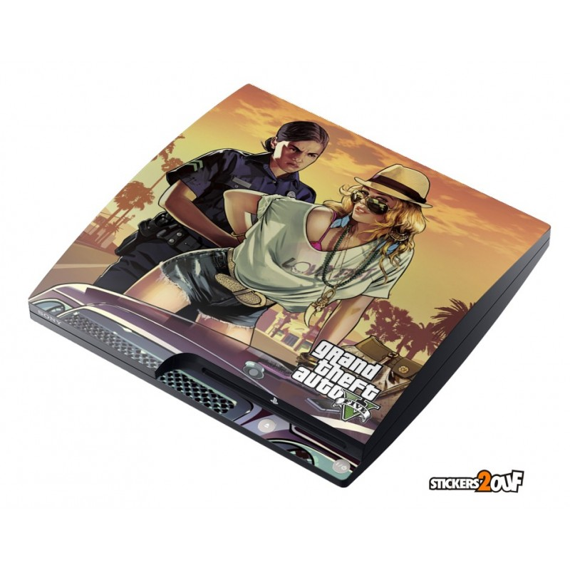 Police Girl GTA V PS3 Slim