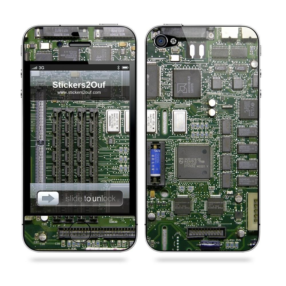 Motherboard Iphone 4 Amp 4s Apple Skin