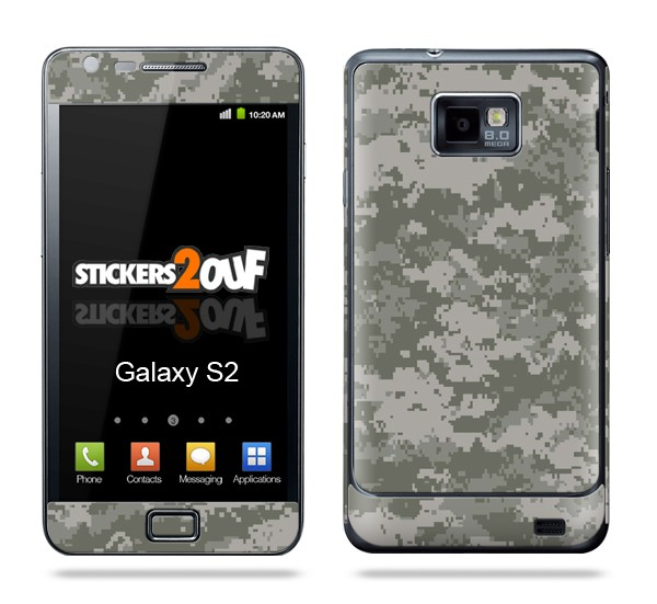 Camouflage Galaxy S2