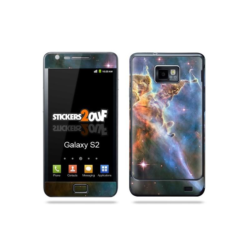 Nebula Galaxy S2 Samsung Skin