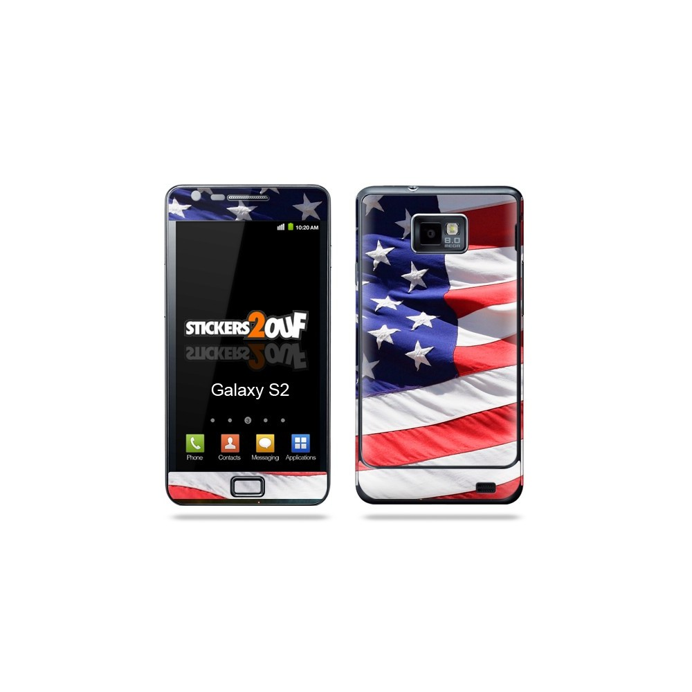 Usa Galaxy S2 Samsung Skin