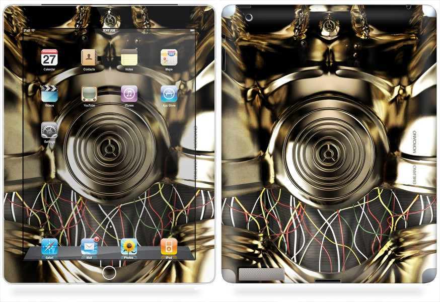 C3PO iPad 2 & New iPad