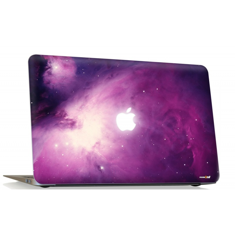 Pink Nebula Macbook