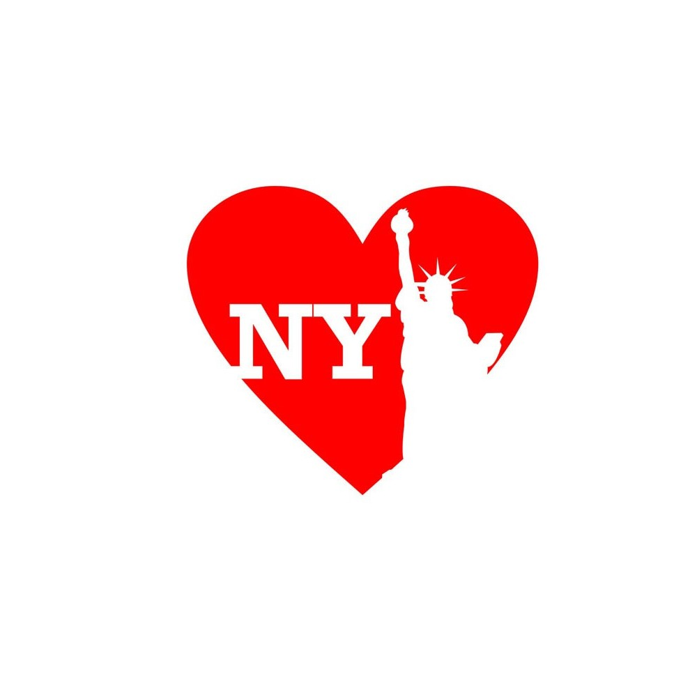 Love new york stickers2ouf sticker for Auto collant mural