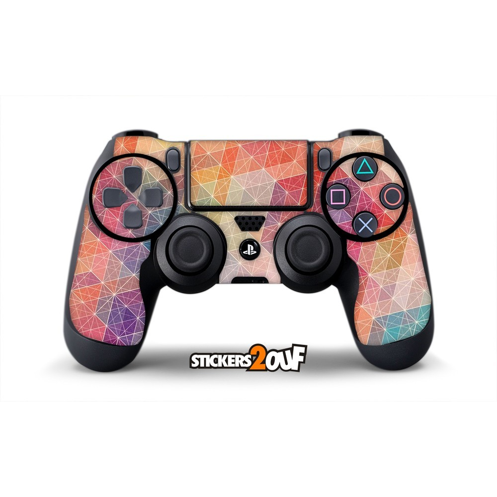 geometric dualshock 4 sony skin. Black Bedroom Furniture Sets. Home Design Ideas