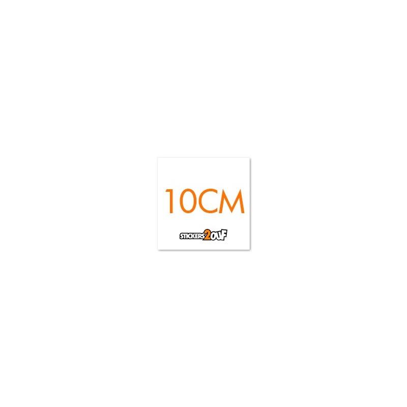 SQUARE 10CM x 50