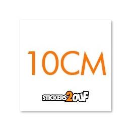 SQUARE 10CM x 100
