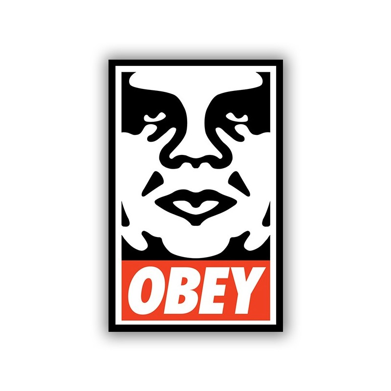 Obey stickers2ouf sticker for Autocollant mural
