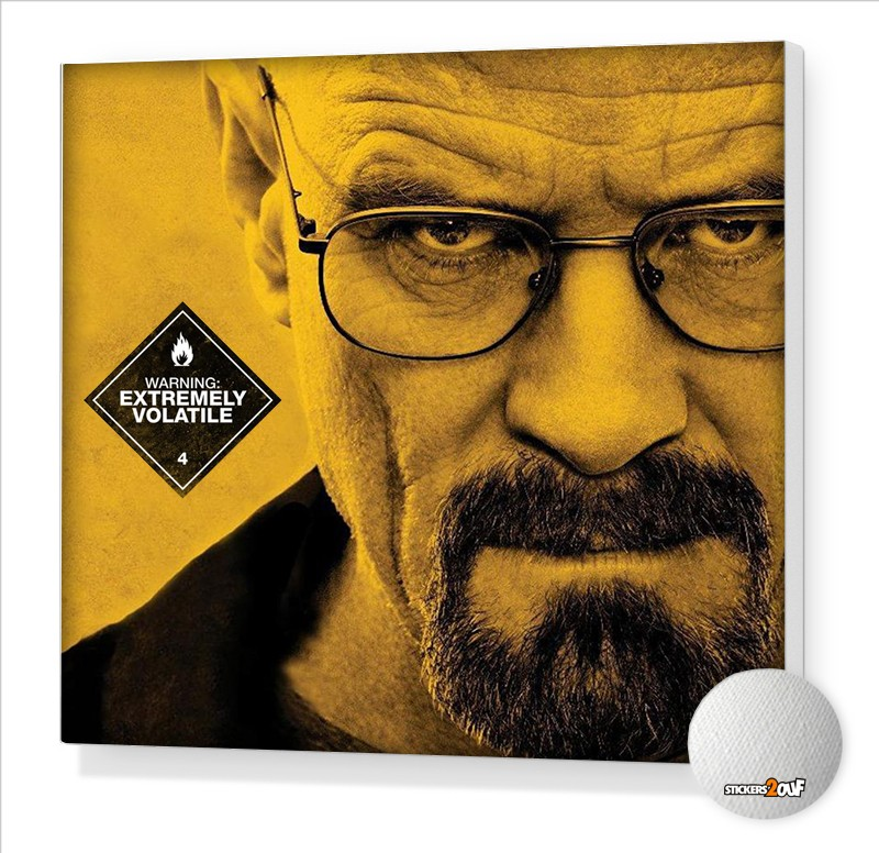 Breaking Bad Stretched canvas