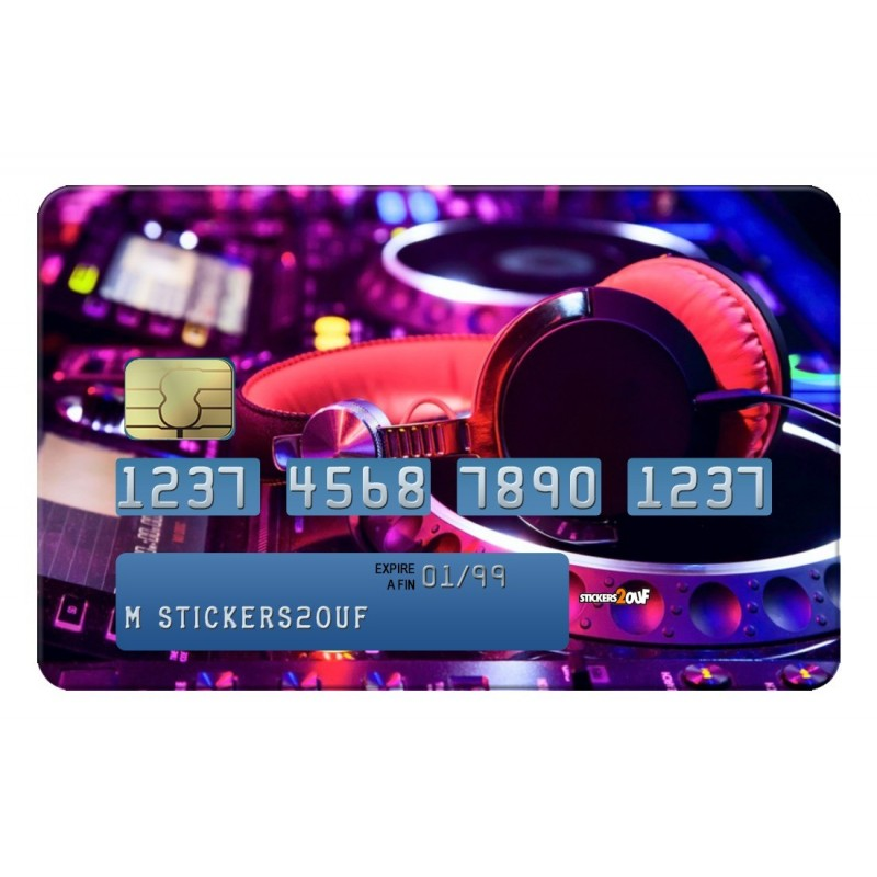 DJ Credit-card