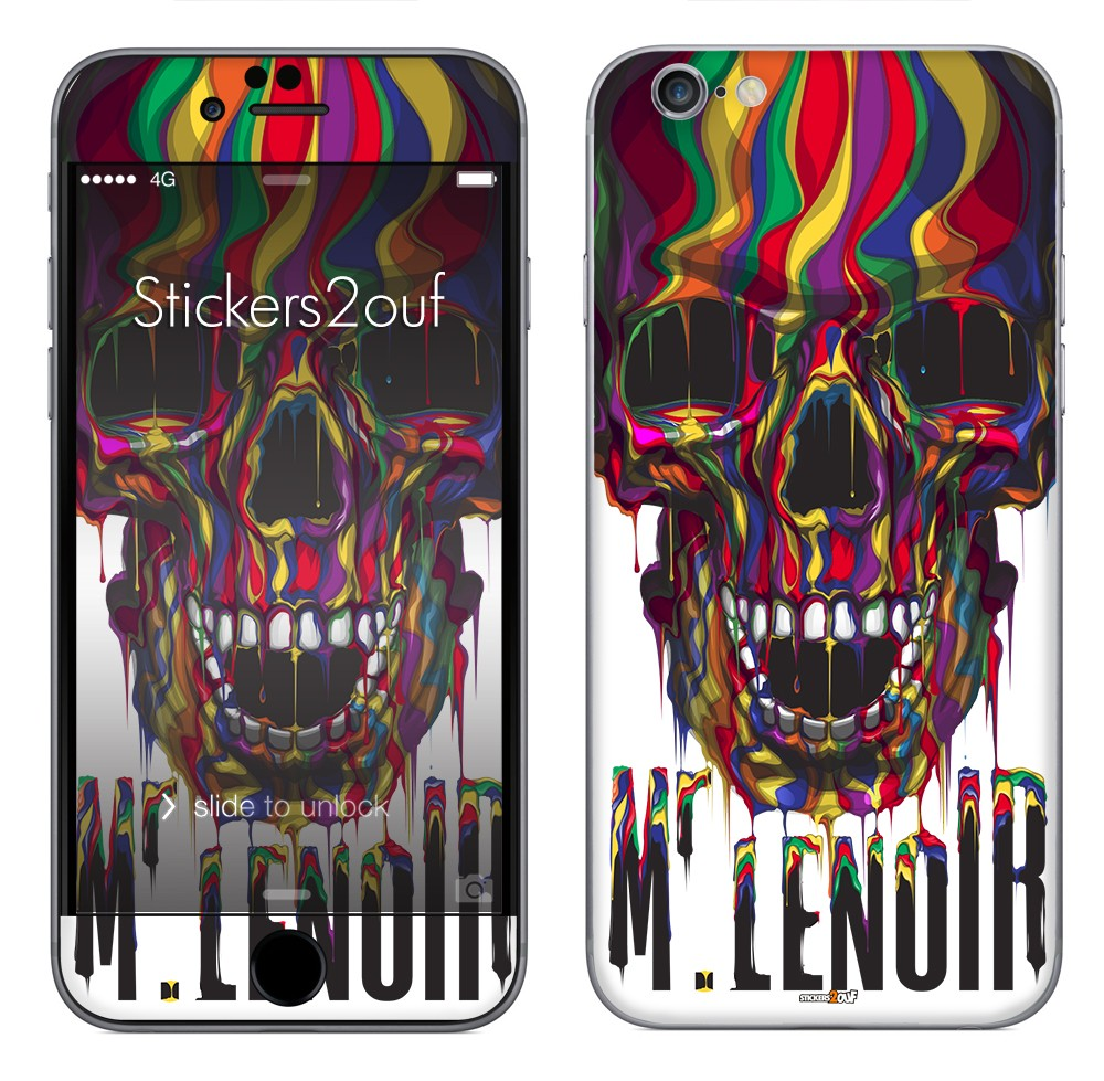 Skull MrLenoir iPhone 6 et 6S