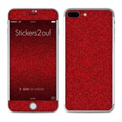 Glitter Rouge iPhone 7 Plus