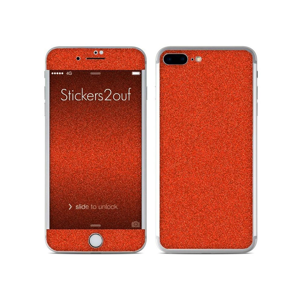 size 40 50716 42558 Glitter Orange iPhone 7 Plus