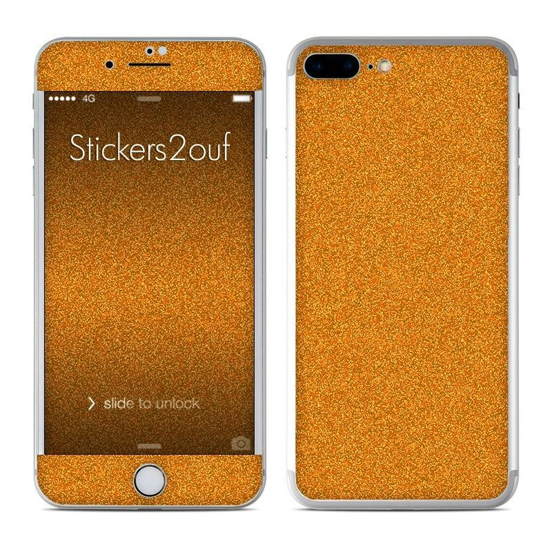 Glitter Gold iPhone 7 Plus