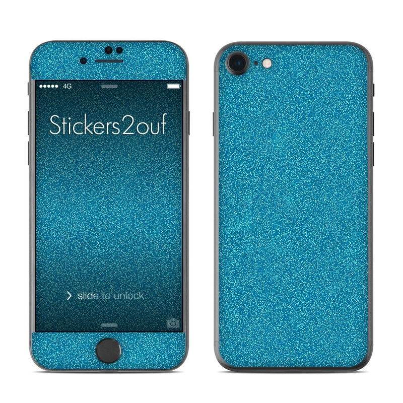 Glitter Turquoise iPhone 7