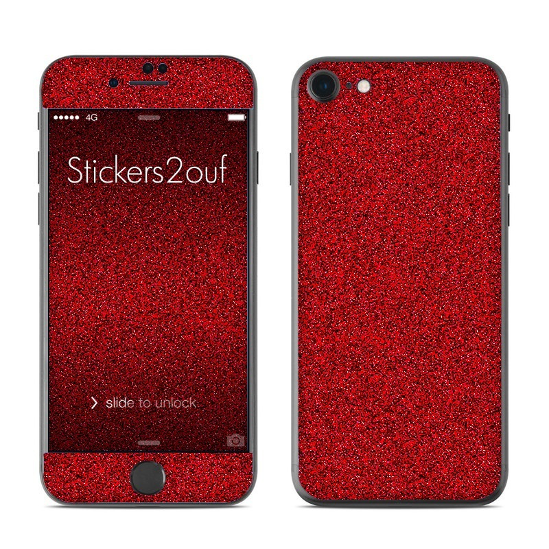 Glitter Rouge iPhone 7