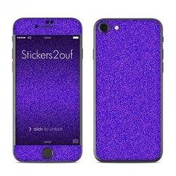 Glitter violet iPhone 7