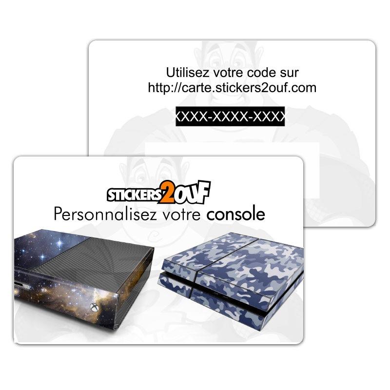 Carte Personnalisation Console
