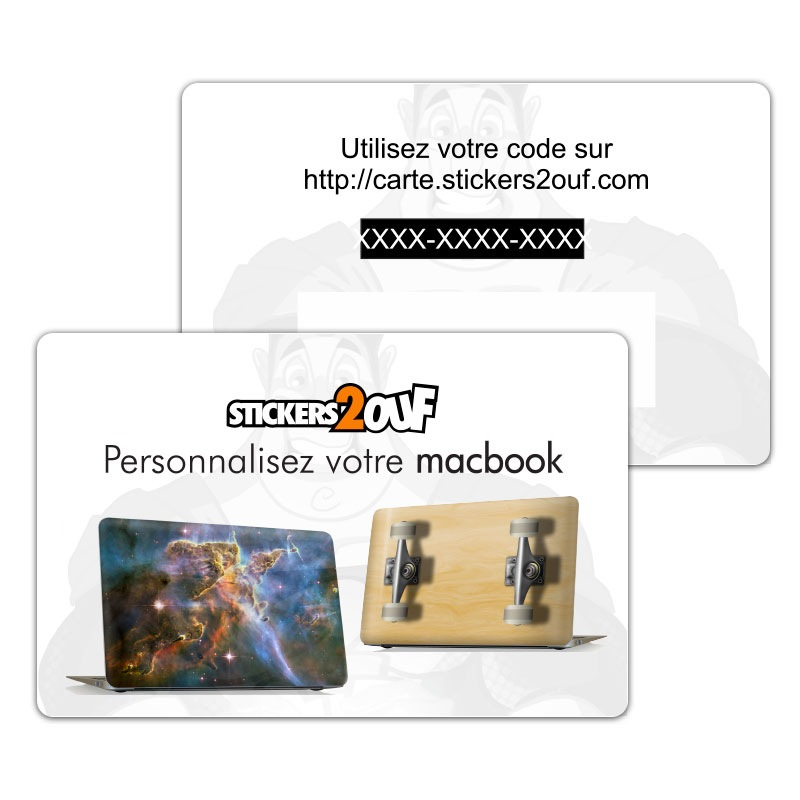 Carte Personnalisation Laptop
