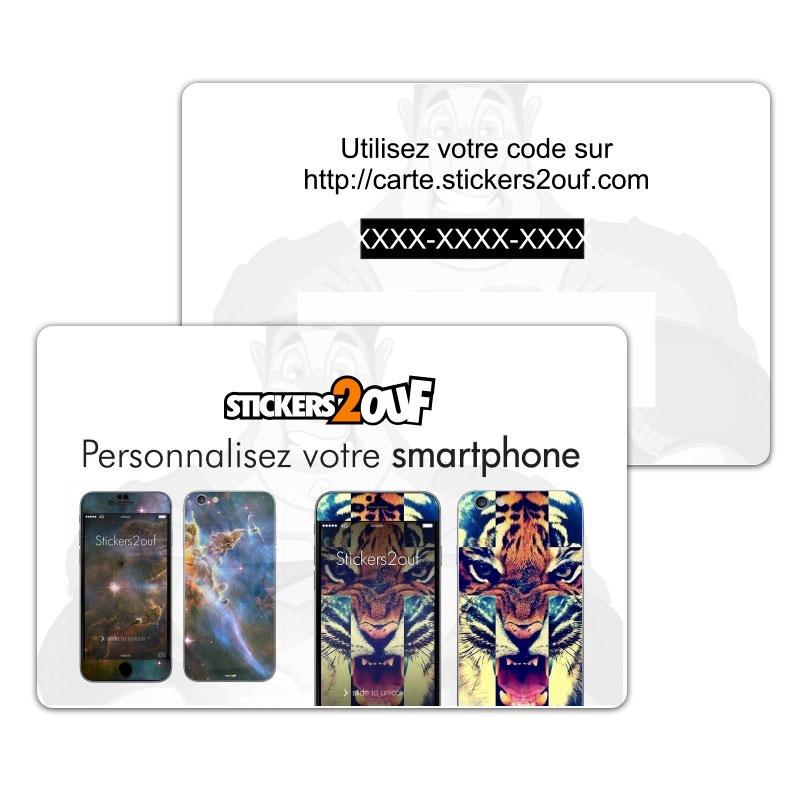 Carte Personnalisation Smartphone