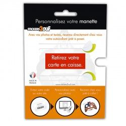 Carte Personnalisation Manette