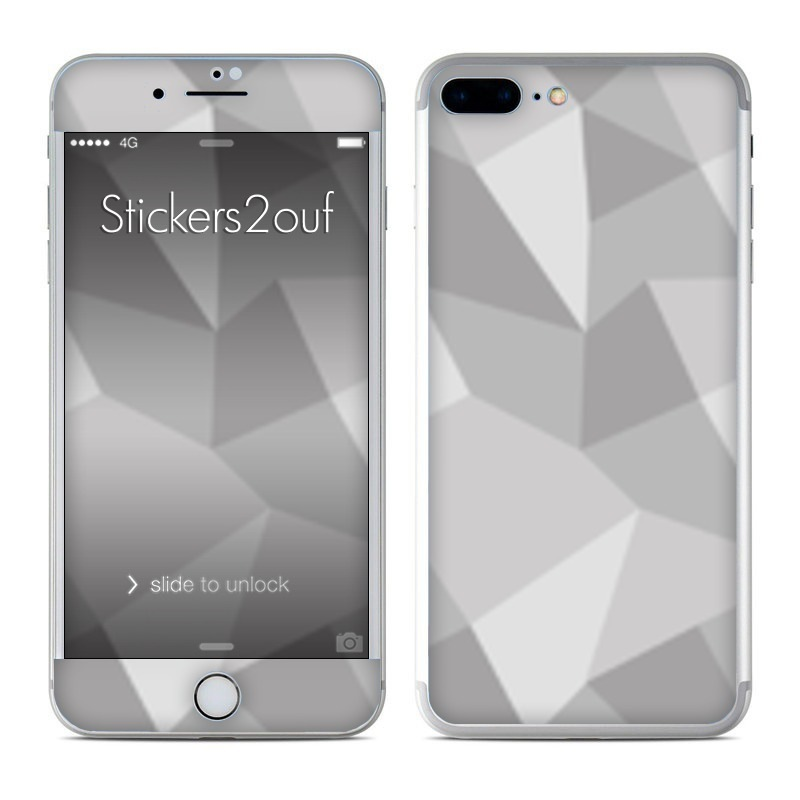 Grey pattern iPhone 7 Plus