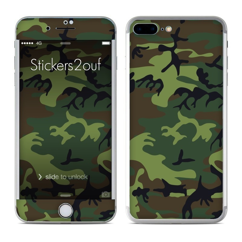 Forest camo iPhone 7 Plus