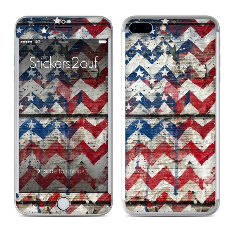 USA Chevrons iPhone 7 Plus