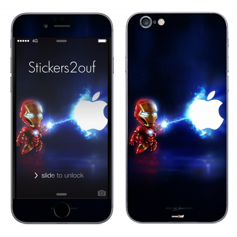Mini iron man iPhone 6 Plus