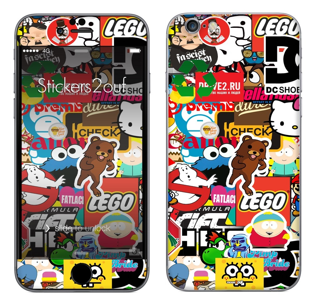 StickerBomb iPhone 6 Plus