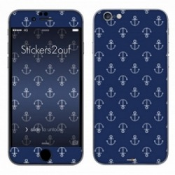 Blue Anchor iPhone 6 Plus