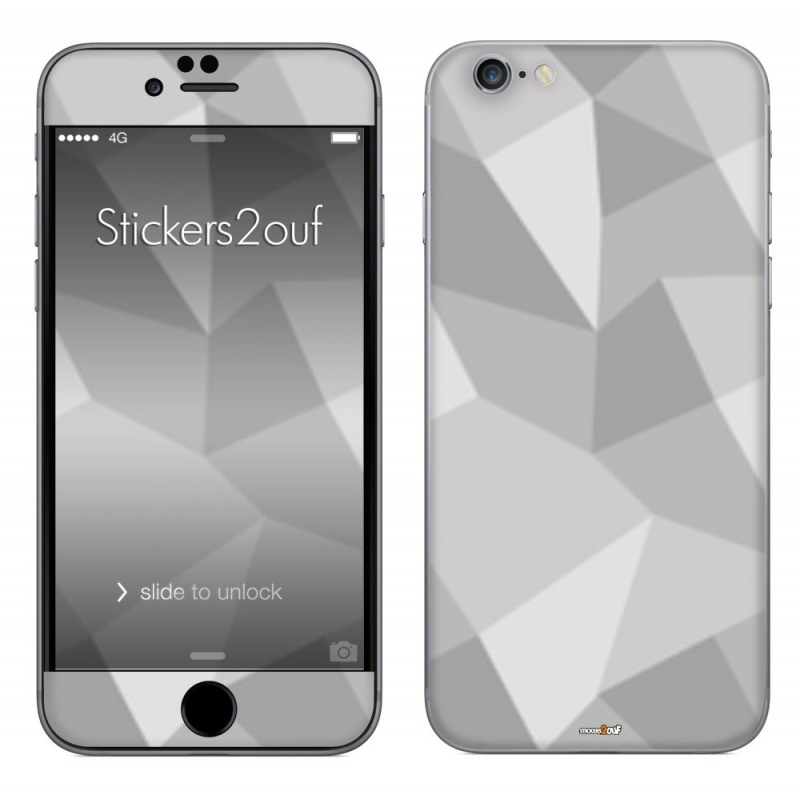 Grey pattern iPhone 6 Plus