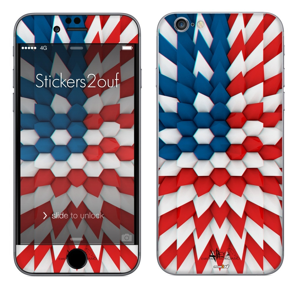Polyflag USA iPhone 6 Plus