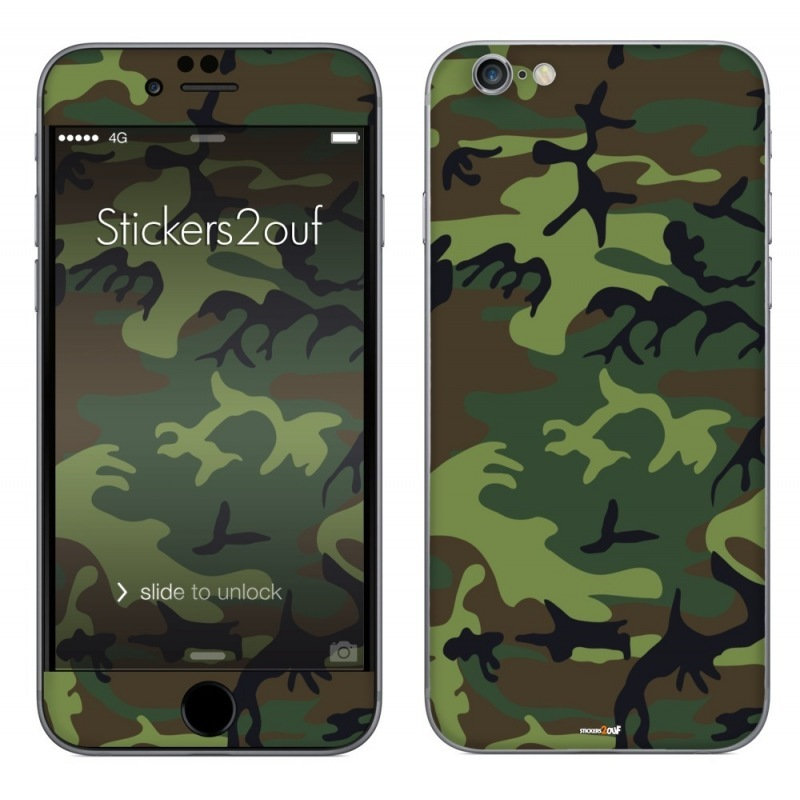 Forest camo iPhone 6 Plus