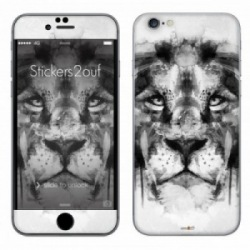 BW Lion iPhone 6 Plus