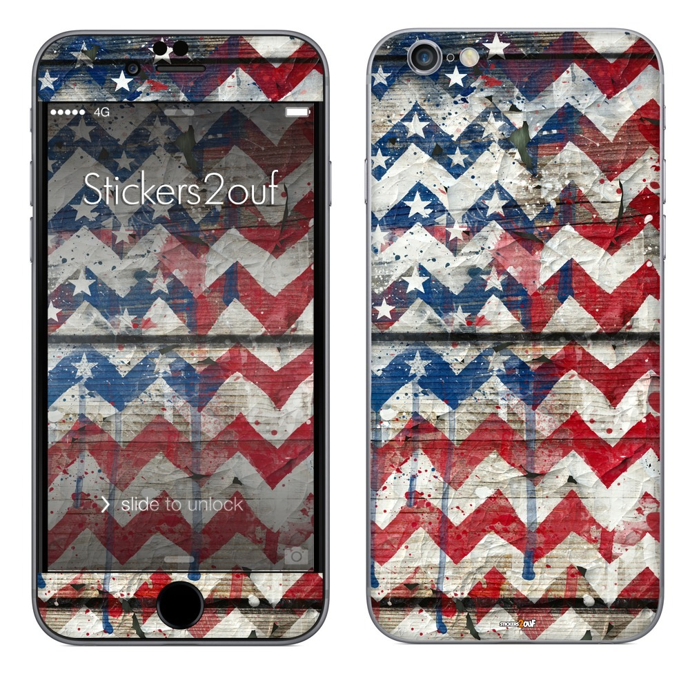 USA Chevrons iPhone 6 Plus