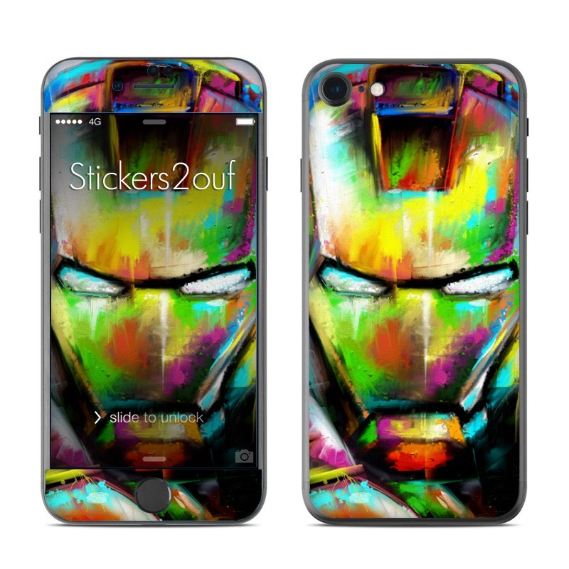 iron paint iPhone 7