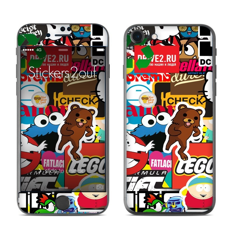 StickerBomb iPhone 7