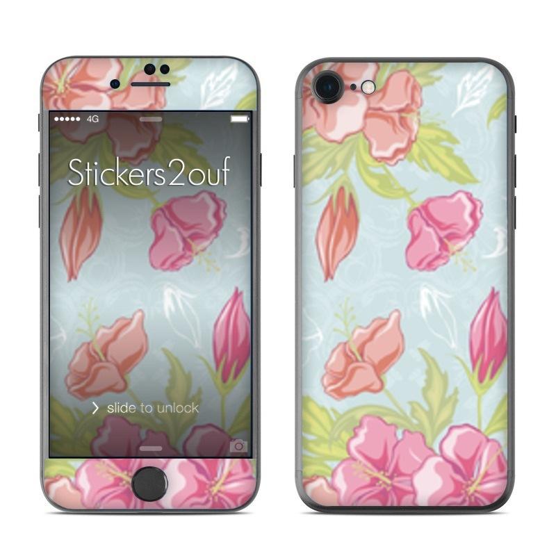 Pastel flowers iPhone 7