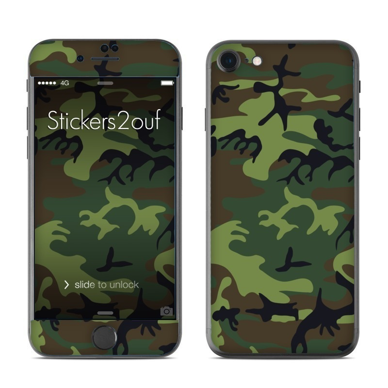 Forest camo iPhone 7