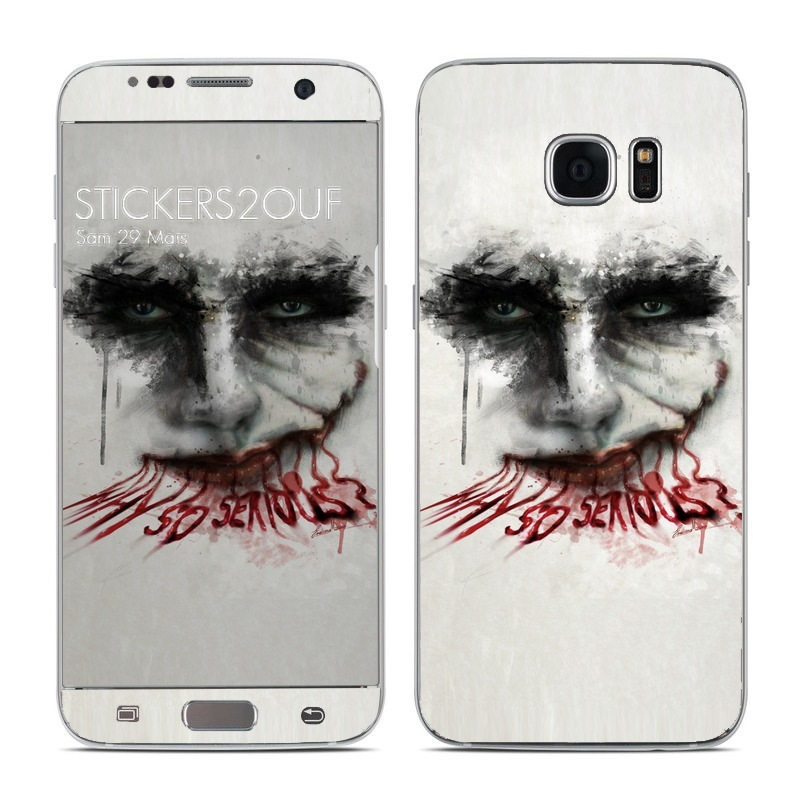 Why so serious Galaxy S7 Edge
