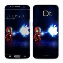 Mini iron man Galaxy S7 Edge