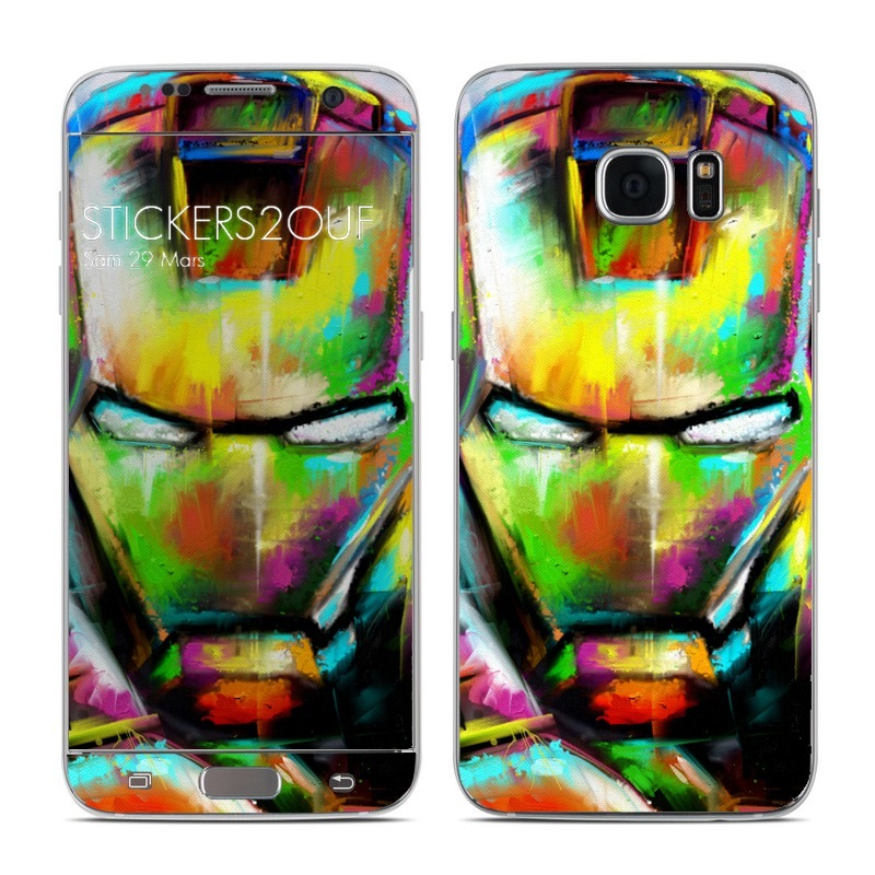 iron paint Galaxy S7 Edge