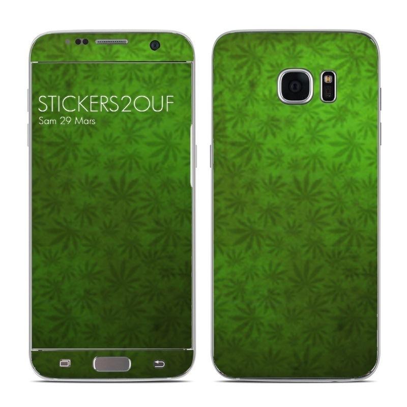 Weed Galaxy S7 Edge