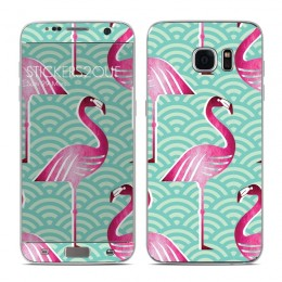 Flamingo Galaxy S7 Edge