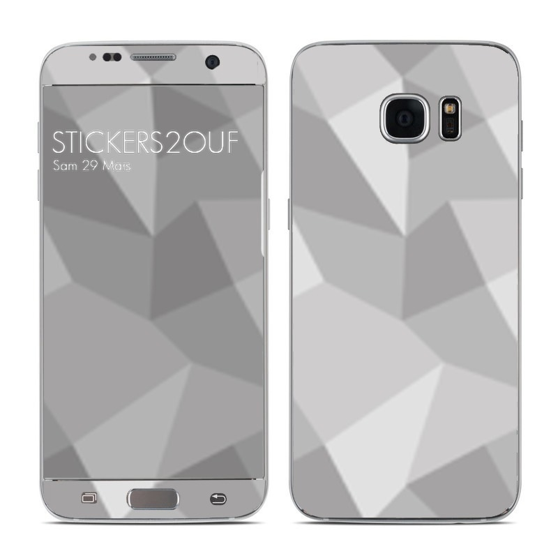 Grey pattern Galaxy S7 Edge