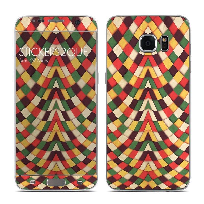 Rastafarian Galaxy S7 Edge
