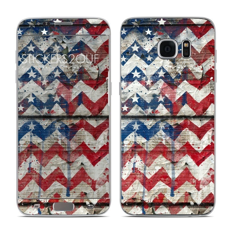USA Chevrons Galaxy S7 Edge