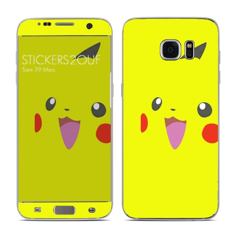 Pikachu Galaxy S7 Edge