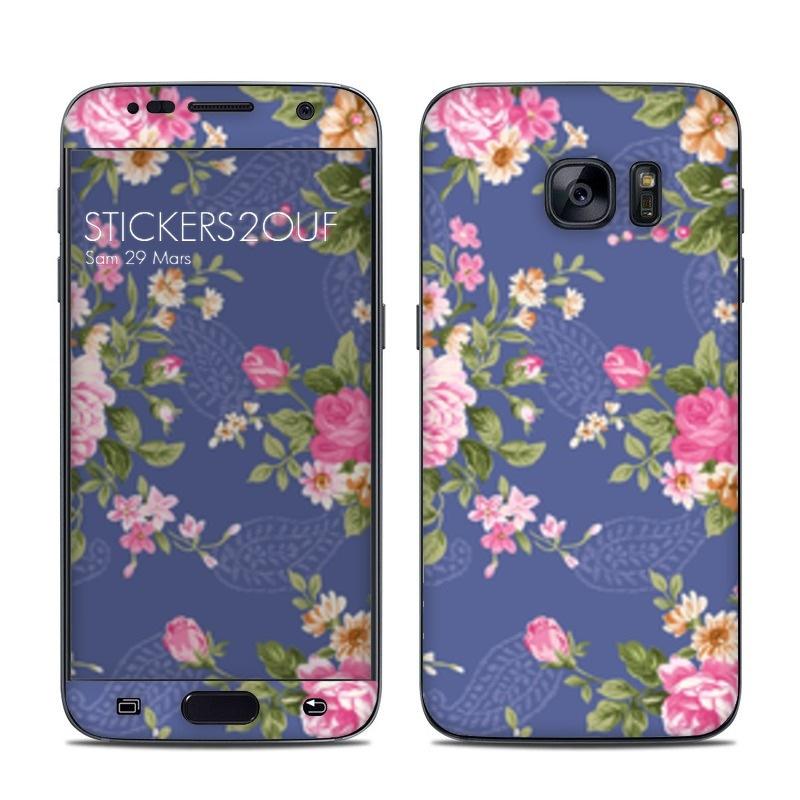Vintage flower Galaxy S7
